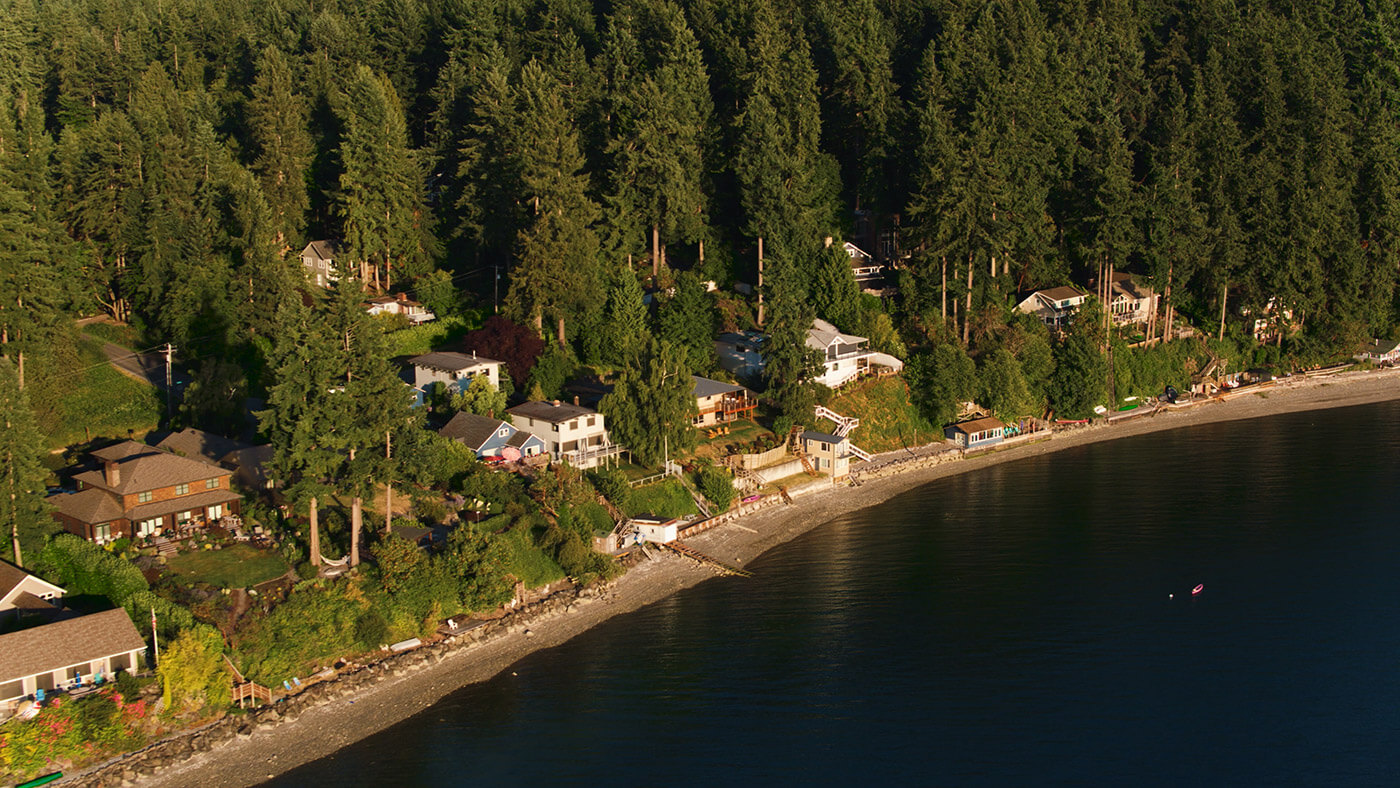 waterfront property on bainbridge